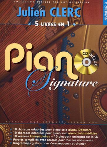 Piano Signature Julien Clerc - Numéro 3