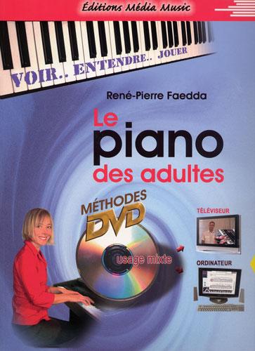 Le piano des adultes DVD + Recueil (Faedda, René-Pierre)