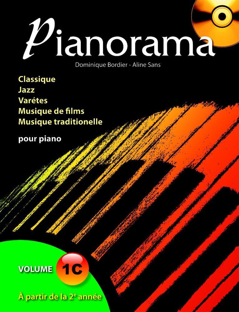 Bordier, Dominique / Sans Aline : Pianorama - Volume 1C