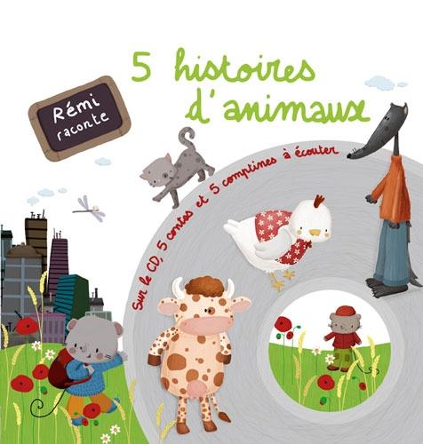 Guichard, Rémi : Livre CD `5 Histoires d animaux`