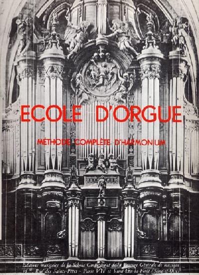 raffy, Louis / : Ecole d'Orgue et d'Harmonium Vol.1