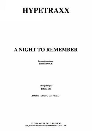 Pakito : A Night To Remember