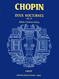 Chopin, Frédéric : Nocturnes Op.55