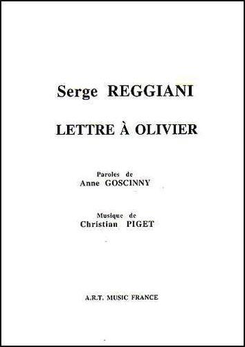 Serge Reggiani : Lettre À Olivier