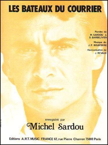 Sardou, Michel : Bâteaux Du Courrier (Les)'