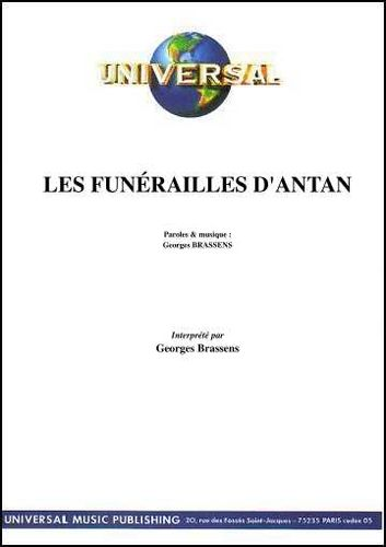 Brassens, Georges : Les Funerailles D'Antan