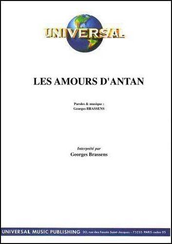 Brassens, Georges : Les Amours D'Antan