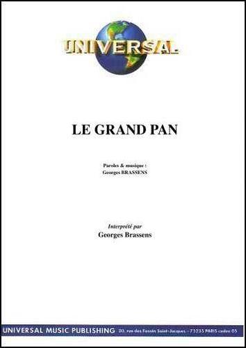 Brassens, Georges : Le Grand Pan