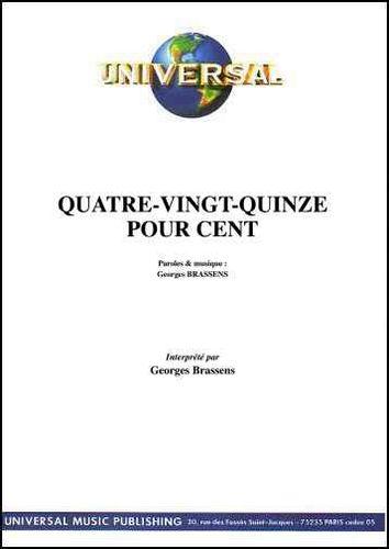 Brassens, Georges : Quatre-Vingt-Quinze Pour Cent