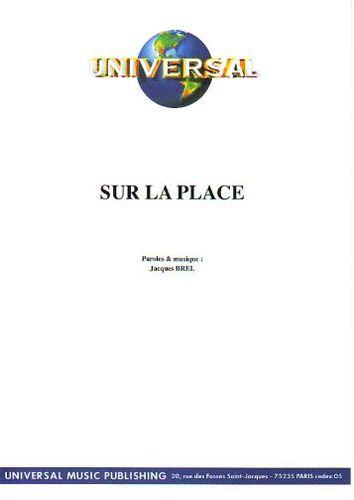 Brel, Jacques : Sur La Place