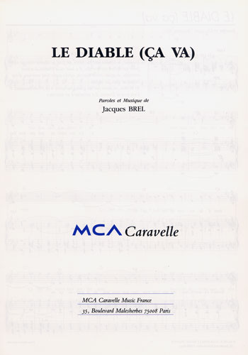 Brel, Jacques : Le Diable (Ça Va)