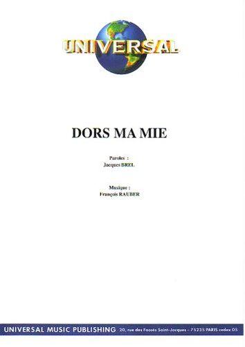 Jacques Brel : Dors Ma Mie