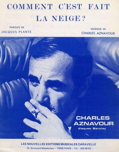 Aznavour, Charles : Comment C'Est Fait La Neige