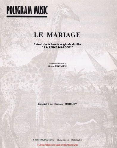 Goran, Bregovic : Le Mariage