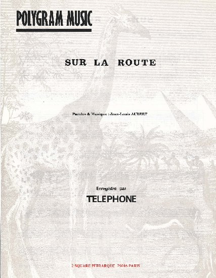Aubert, Jean-Louis : Sur La Route