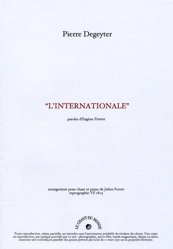 Degeyter, Pierre : Internationale (L )