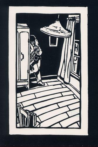 Carte Postale d\'Art `Hôtel Solo, Saxophone`
