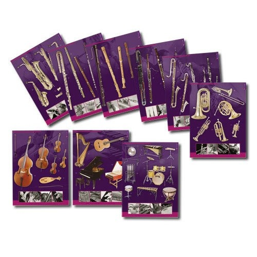 Serie De 9 Posters Connaissance Des Instruments