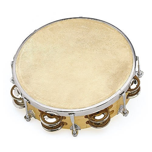 Tambourin Peau Naturelle 20 Cm   Cymbalettes