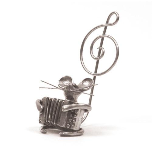 Souris Musicienne - Accordéon