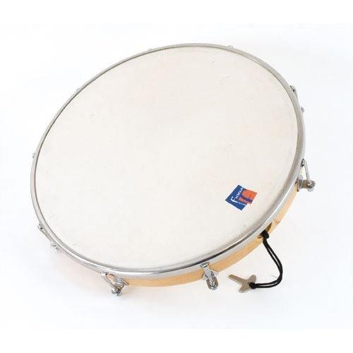 Tambourin 25 Cm Peau Synthetique Sans Cymb.
