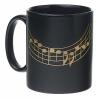 Tasse à café : Portée musicale [Coffee Mug : Music stave]