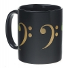 Tasse à café : Clé de Fa [Coffee Mug : Bass Clef]