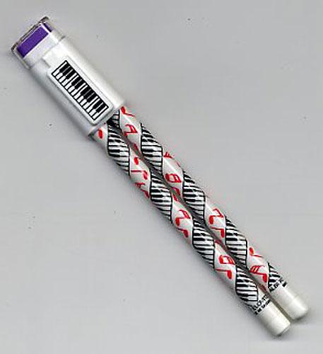 Duo de crayons : un stylo et un crayon à papier avec mines interchangeables [Pencil non sharpening]