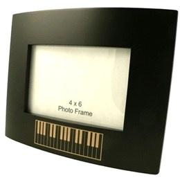 Cadre Photo : Noir Liseré Piano