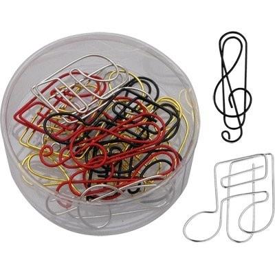 Trombones : Clé De Sol Et Croches - Assortiment De Couleurs