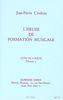 Couleau, Jean-Pierre : Heure de Formation Musicale Débutant 2 - Livre de l