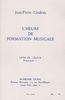 Couleau, Jean-Pierre : Heure de Formation Musicale Préparatoire 1 - Livre de l