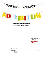 Neumayer, Martine : Ad Libitum - Volume 1