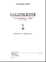 Bouchot, Vincent : Galgendlieder - Les Chansons de Gibet