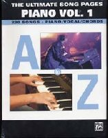 The Ultimate Song Pages Piano Volume 1 - A to Z