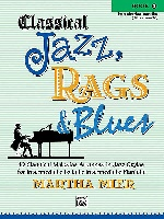 Mier, Martha : Classical Jazz, Rags and Blues - Book 3