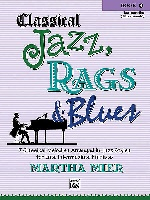 Mier, Martha : Classical Jazz, Rags and Blues - Book 4