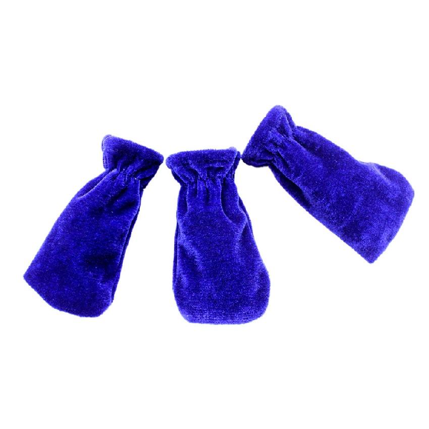 Couvre Pédales Piano (3 pièces) Coloris Bleu [Piano pedals covers (3 pieces) Blue]