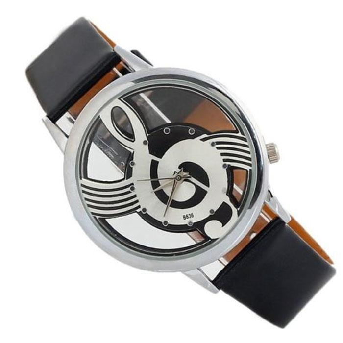 Montre Clé de Sol - Noir [Wrist Watch G Key Black]