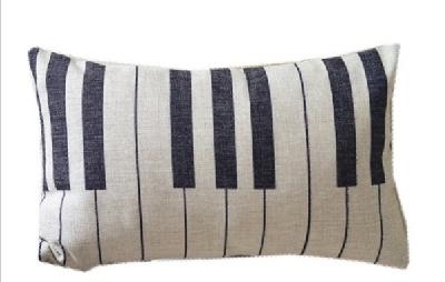 Taie d\'Oreiller / Housse de Coussin Touches de Piano [Cushion Covers / Pillowcase Piano Keys]