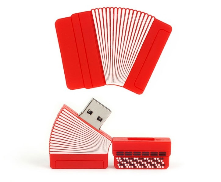 Clé USB Accordéon 16GB Flash Drive [accordion USB Flash Drive 16GB]