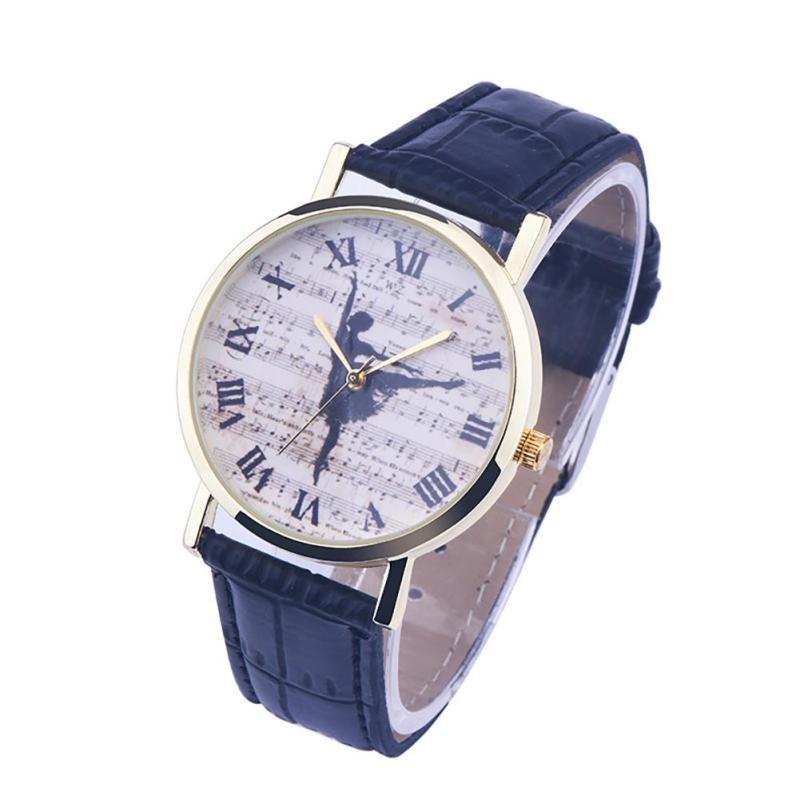 Montre La Danse - Noir [Wrist Watch Dance - Black]