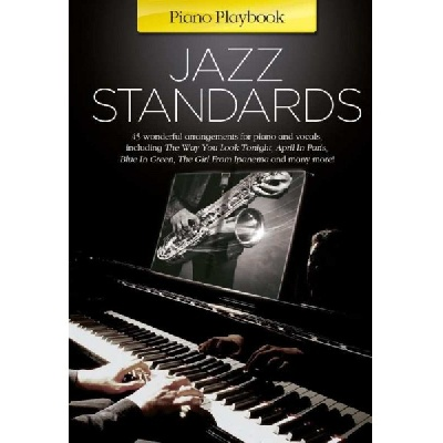 Piano PlayBook : Jazz Standards