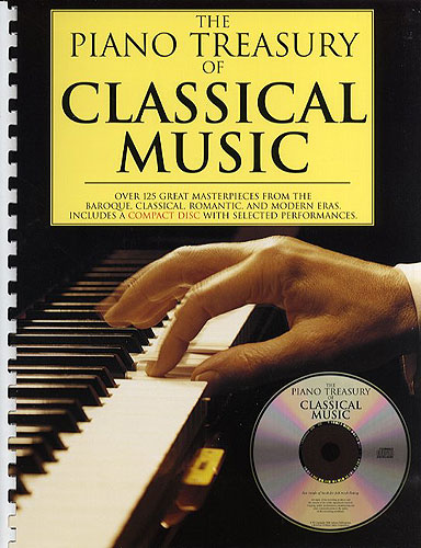Divers : The Piano Treasury Of Classical Music