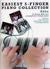 Easiest 5-Finger Piano Collection Abba