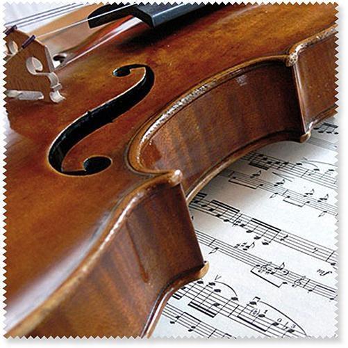 Glasses wipe Violin/Sheet music