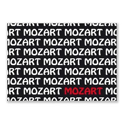 Carte Postale - Graphique Mozart