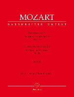 Mozart, Wolfgang Amadeus : Concerto for Piano and Orchestra no. 23 A major K. 488 (Piano Reduction)