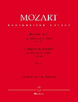 Mozart, Wolfgang Amadeus : Concerto pour piano et orchestre en la majeur KV 414 (n° 12) / Concerto for Piano and Orchestra in A Major KV 414 (No. 12)