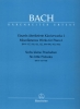 Bach, Johann Sebastian : ?uvres diverses pour piano - Volume 1 / Miscellaneous Works for Piano - Volume 1